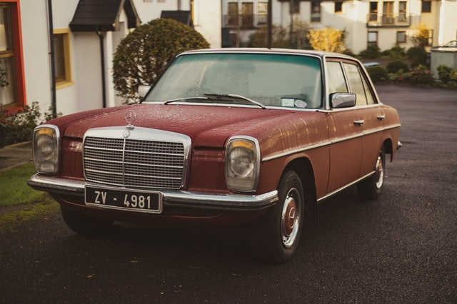 Classic Mercedes Vehicle from Ireland